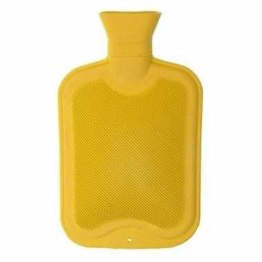 Warmwarme kruik geel 2 liter